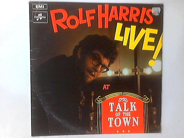 Live At The Talk Of The Town LP By Rolf Harris