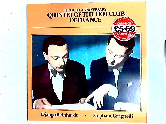 Fiftieth Anniversary 2LP Comp By Quintette Du Hot Club De France