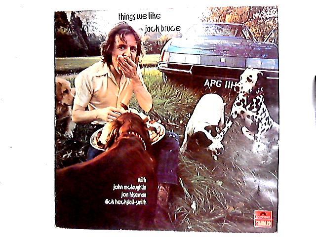 Things We Like LP By Jack Bruce