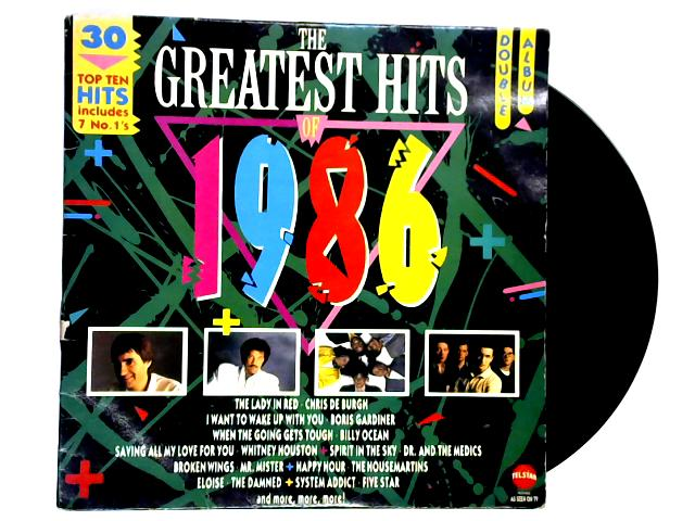 The Greatest Hits Of 1986 2xLP by Various