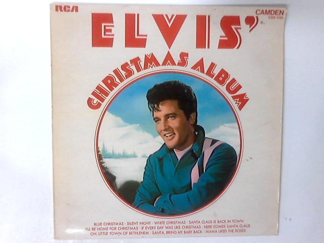 Elvis' Christmas Album LP by Elvis Presley