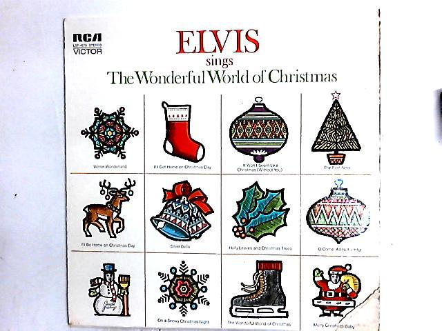 Elvis Sings The Wonderful World Of Christmas LP by Elvis Presley