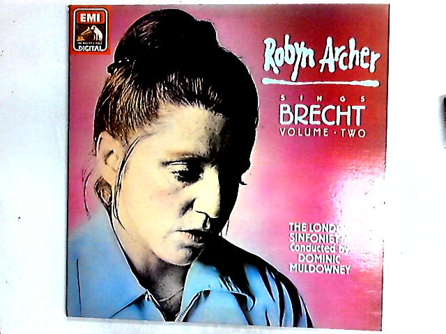 Robyn Archer Sings Brecht Volume Two LP By Robyn Archer