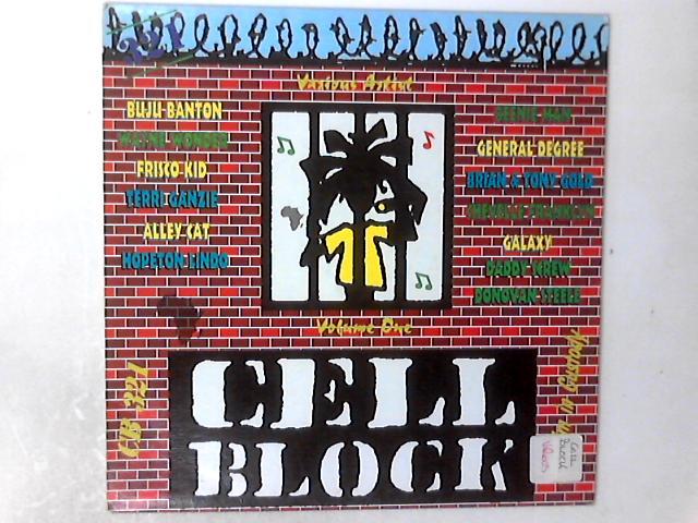Cell Block Various Artists Rhythim In Custody [Vol 1] LP COMP By Various