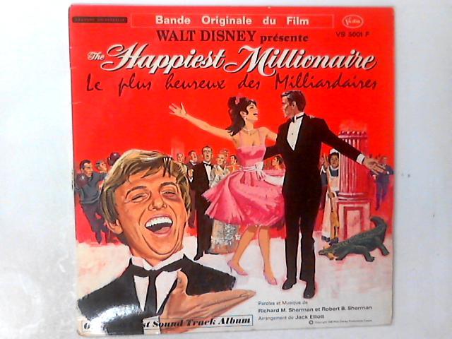Walt Disney Présente The Happiest Millionaire - Le Plus Heureux Des Milliardaires Soundtrack LP By Various
