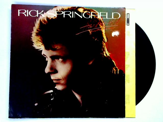 Hard To Hold - Soundtrack Recording LP 1st by Rick Springfield