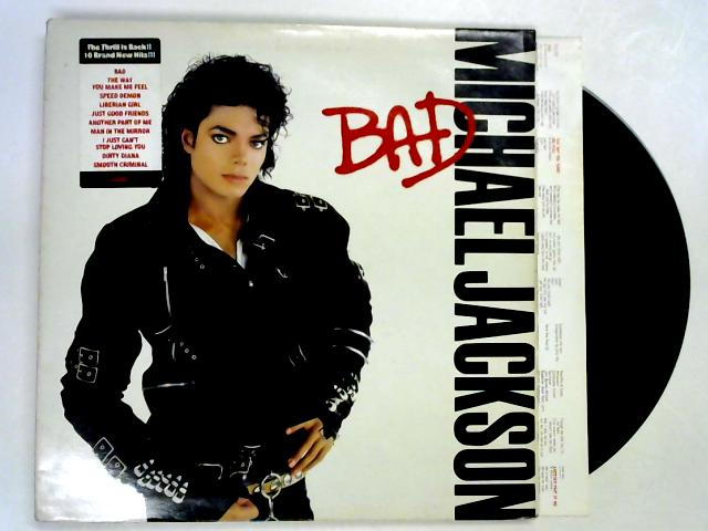 Bad LP 1st by Michael Jackson