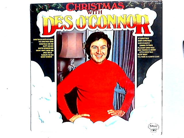 Christmas With Des O'Connor LP by Des O'Connor