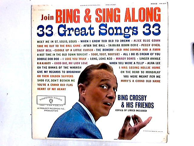 Join Bing & Sing Along LP By Bing Crosby