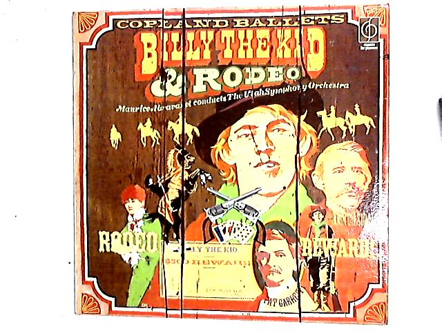 Copland Ballets - Billy The Kid & Rodeo LP By Maurice de Abravanel