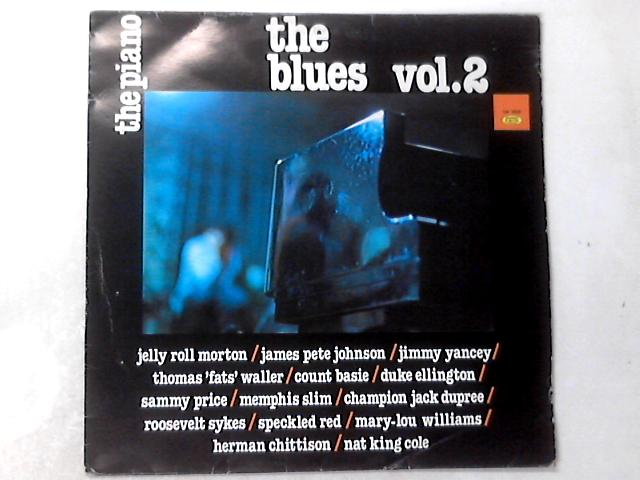 The Piano, The Blues Vol. 2 LP COMP By Various