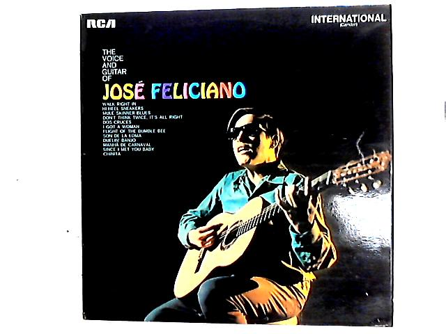 The Voice And Guitar Of José Feliciano Comp By José Feliciano
