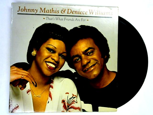 That's What Friends Are For LP 1st By Deneice Williams & Johnny Mathis