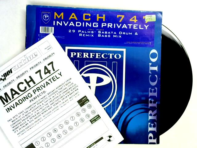Invading Privately 12in 1st By Mach 747
