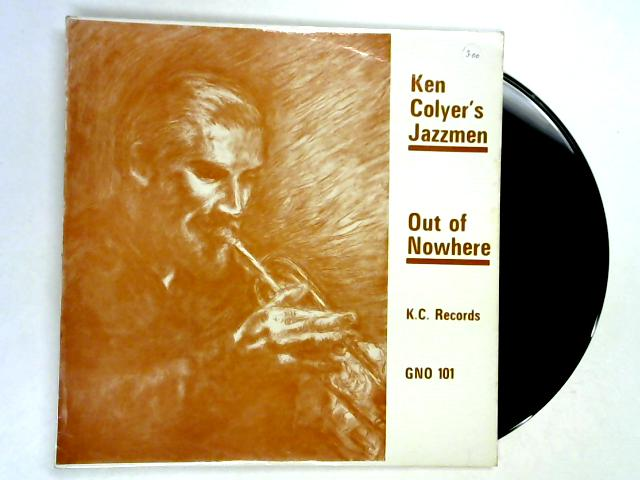 Out Of Nowhere LP 1st By Ken Colyer's Jazzmen