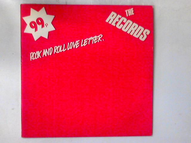 Rock And Roll Love Letter 12in by The Records