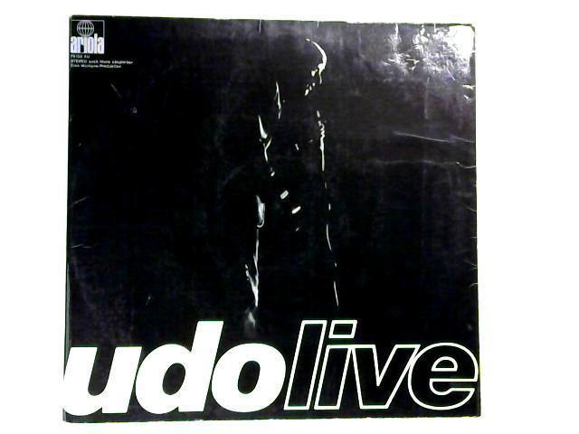 Udo Live 2xLP 1st By Udo Jürgens