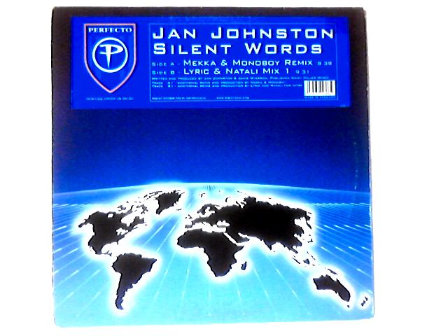 Silent Words 12in by Jan Johnston