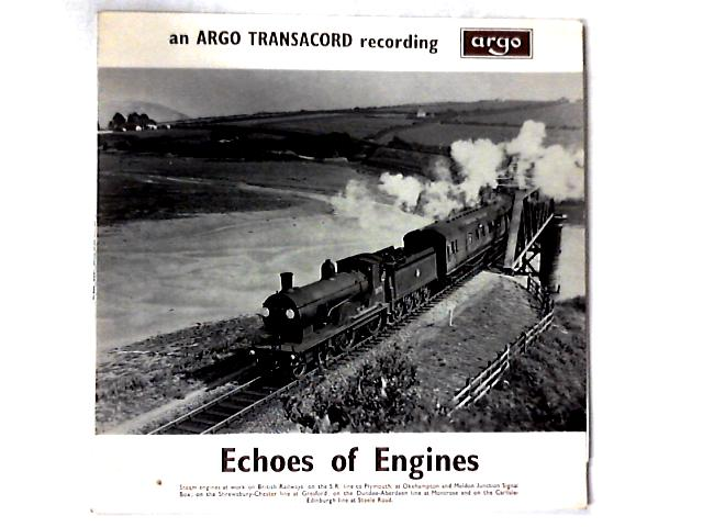 Echos Of Engines LP by No Artist