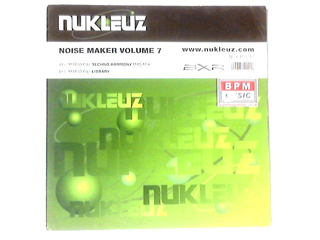 Noise Maker Volume 7 12in by Mario Più