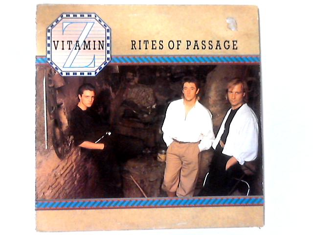 Rites Of Passage LP by Vitamin Z