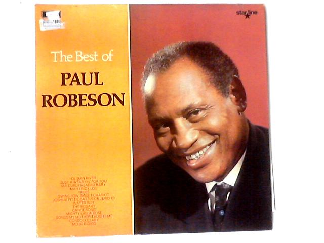 The Best Of Paul Robeson LP COMP By Paul Robeson