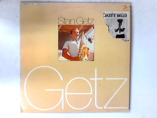Stan Getz 2xLP By Stan Getz