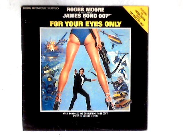For Your Eyes Only (Original Motion Picture Soundtrack) LP by Bill Conti
