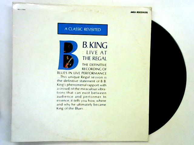 Live At The Regal LP by B.B. King