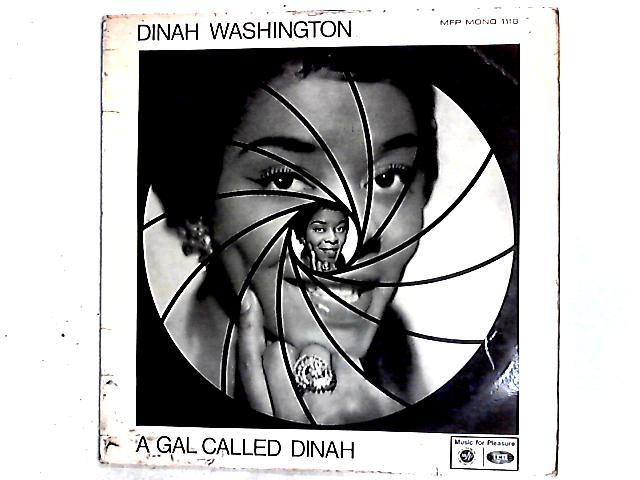 A Gal Called Dinah LP By Dinah Washington