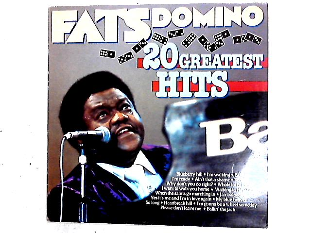 20 Greatest Hits Comp by Fats Domino