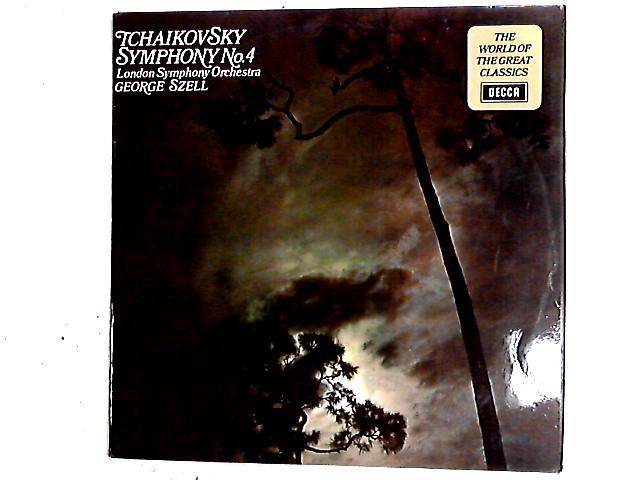 Symphony No.4 LP By Pyotr Ilyich Tchaikovsky