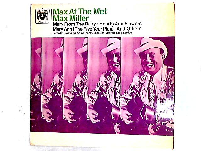 Max At The Met LP By Max Miller