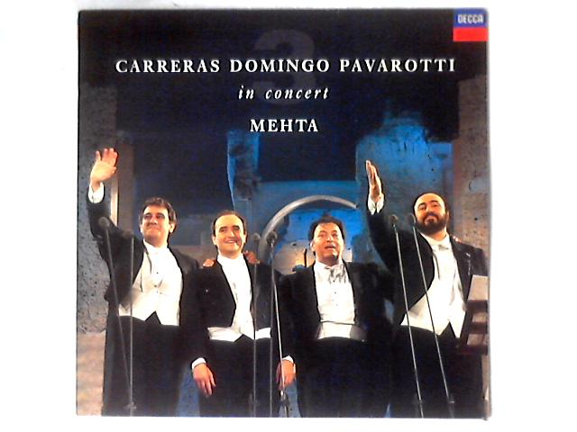 In Concert LP by José Carreras