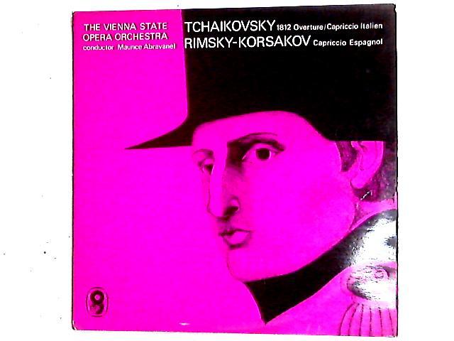 1812 Overture LP By Pyotr Ilyich Tchaikovsky