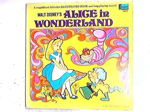 Walt Disney's Story Of Alice In Wonderland LP by Various