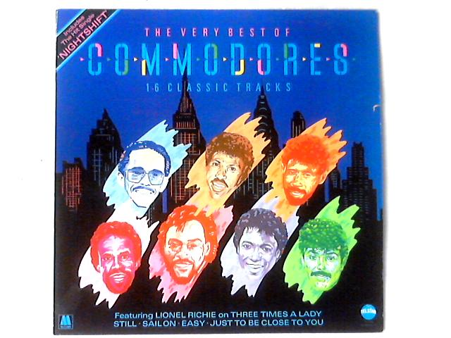 The Very Best Of Commodores LP COMP by Commodores
