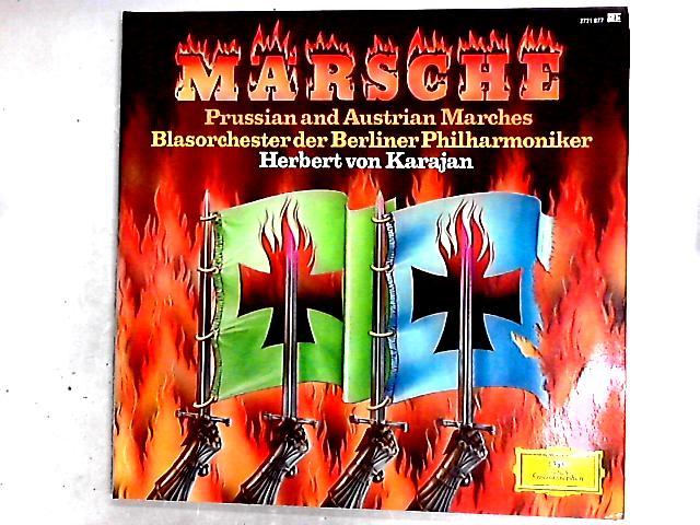 Märsche - Prussian And Austrian Marches 2LP By Herbert von Karajan