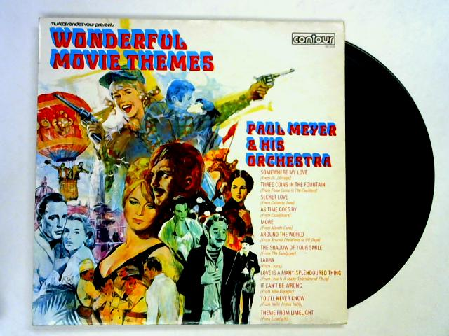 Wonderful Movie Themes LP 1st by Paul Meyer & His Orchestra