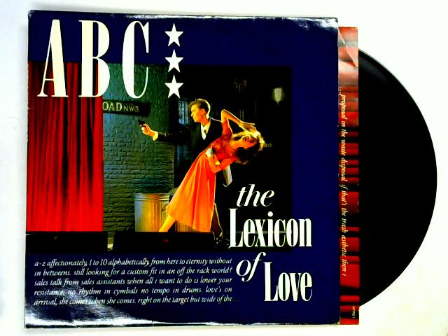 The Lexicon Of Love LP 1st by ABC
