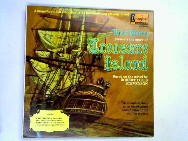 Walt Disney Presents The Story Of Treasure Island LP by Dal McKennon