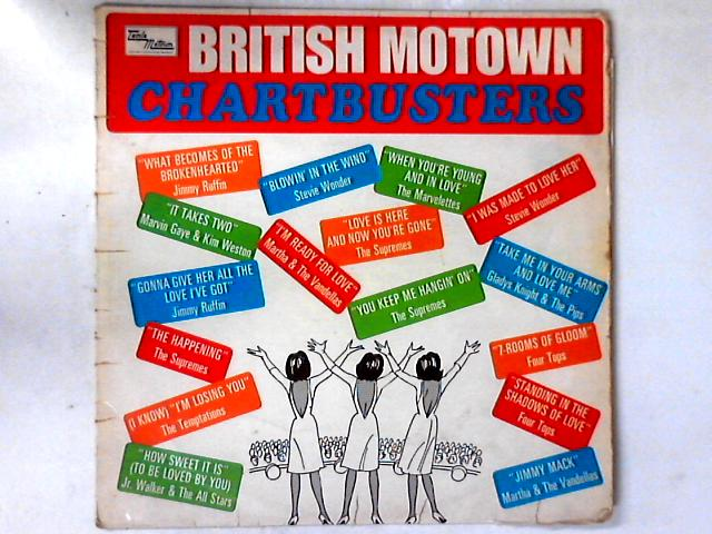 British Motown Chartbusters LP COMP by Various