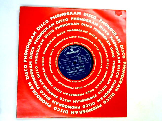 Don't Stop The Music / You're My Song 12in by Yarbrough & Peoples