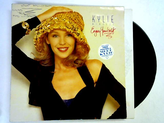 Enjoy Yourself LP 1st by Kylie Minogue