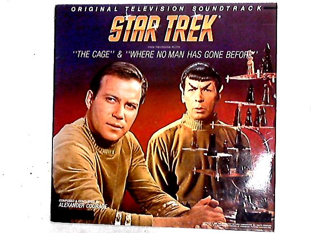 """Star Trek® - """"The Cage"""" And """"Where No Man Has Gone Before"""" - Original Television Soundtrack LP by Alexander Courage"""