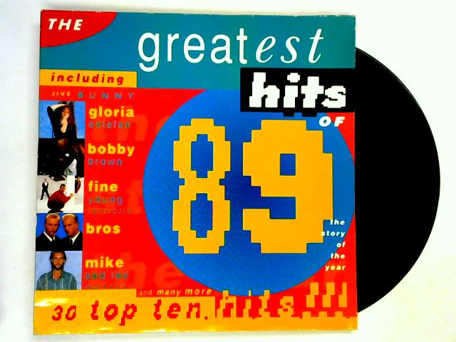The Greatest Hits Of 1989 2xLP by Various
