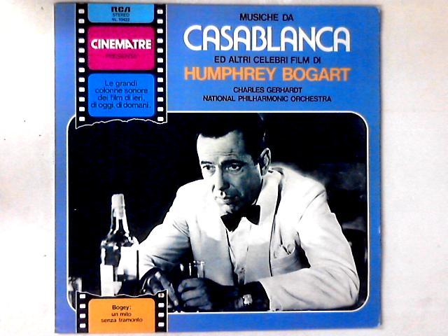 Musiche Da Casablanca Ed Altri Celebri Film Di Humphrey Bogart LP By Charles Gerhardt