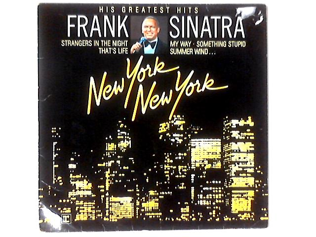 New York New York: His Greatest Hits LP COMP by Frank Sinatra