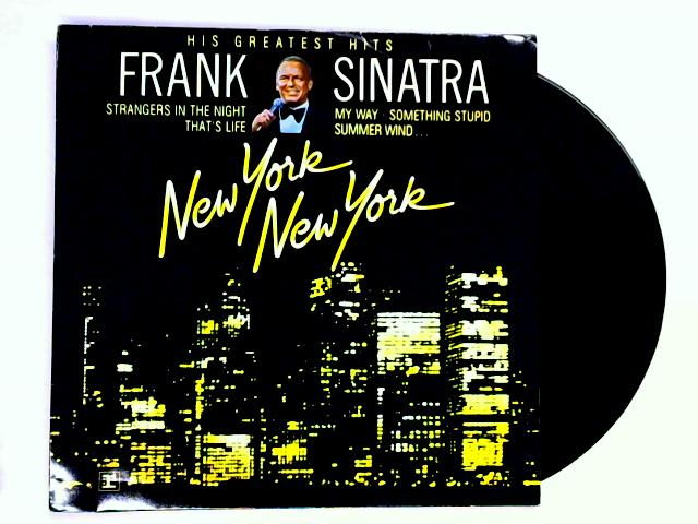 New York New York: His Greatest Hits LP by Frank Sinatra