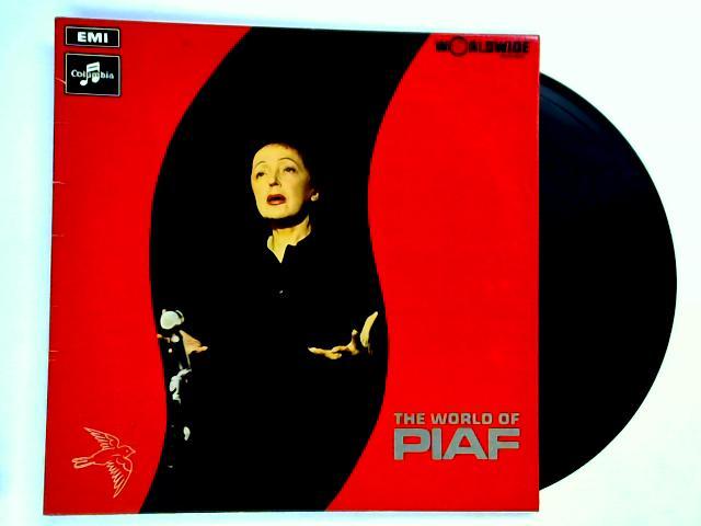 The World Of Piaf LP by Edith Piaf